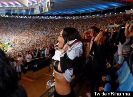 RiRi Celebrates Germany's World Cup Win In Style