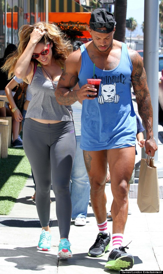 kelly brook and david mcintosh relationship