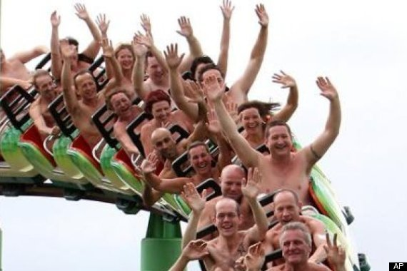 Naked Roller Coaster Ride