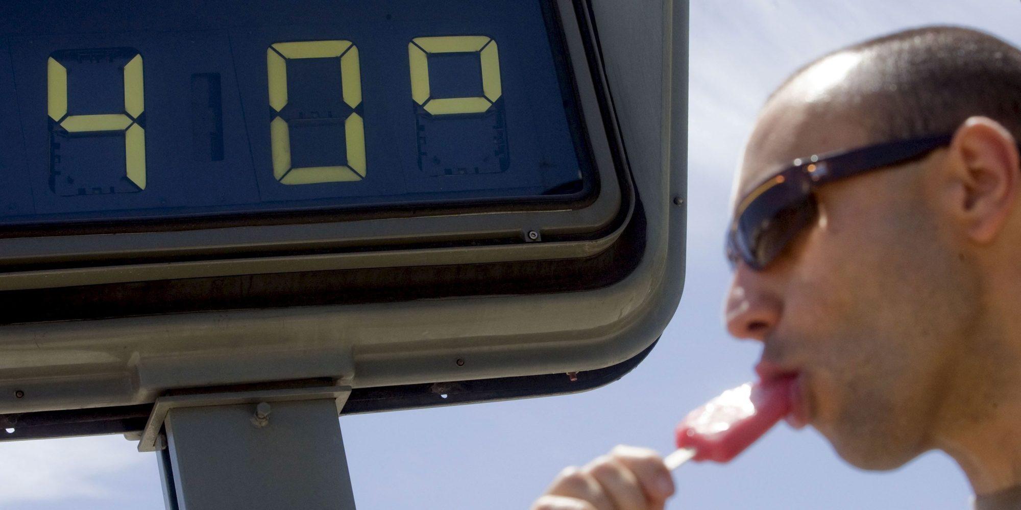 15 provincias en alerta por altas temperaturas de hasta for Cocinar a 40 grados