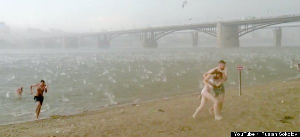 WATCH: Hail Storm In Russia Turns Deadly