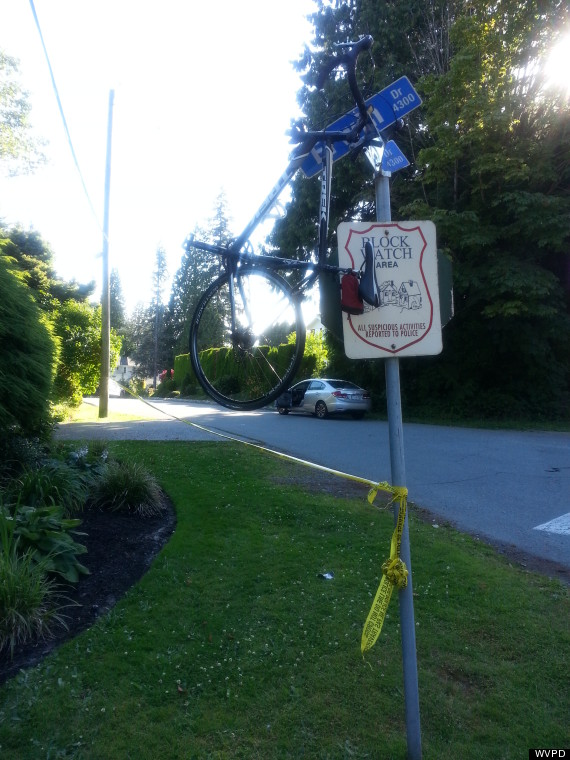 west vancouver bicycle crash