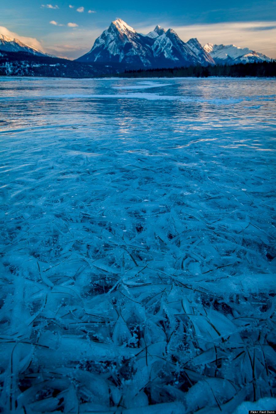lake abraham ice