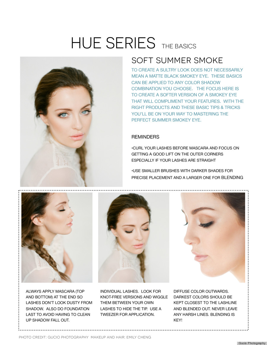 smokey eye makeup hue series 1