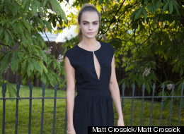 Cara Protests Against Instagram With Topless Pic