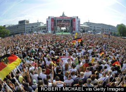 LOOK: Incredible Scenes In Berlin As Thousands Greet World Cup Winners