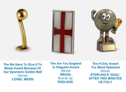 The World Cup 2014 Awards In Full