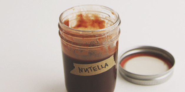 salted nutella syrup will instantly upgrade your life huffpost. Black Bedroom Furniture Sets. Home Design Ideas