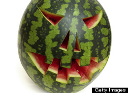 Man Stabs Watermelon, Gets Arrested