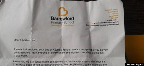 Primary School Sends Adorable Letter To Children After They Receive Exam Results