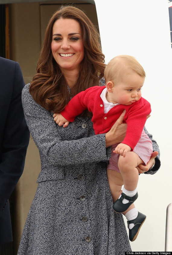 duchess cambridge prince george