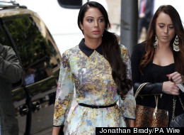Jury Sworn In At Tulisa's Trial