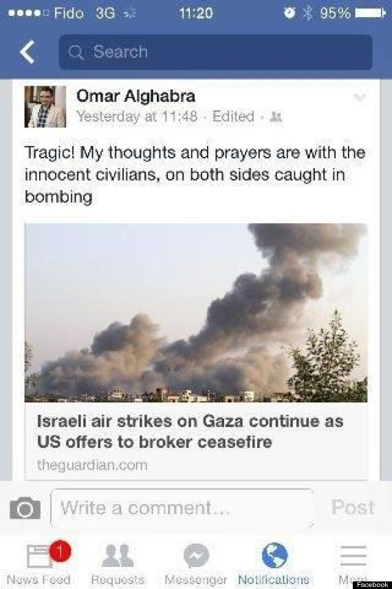 omar alghabra facebook