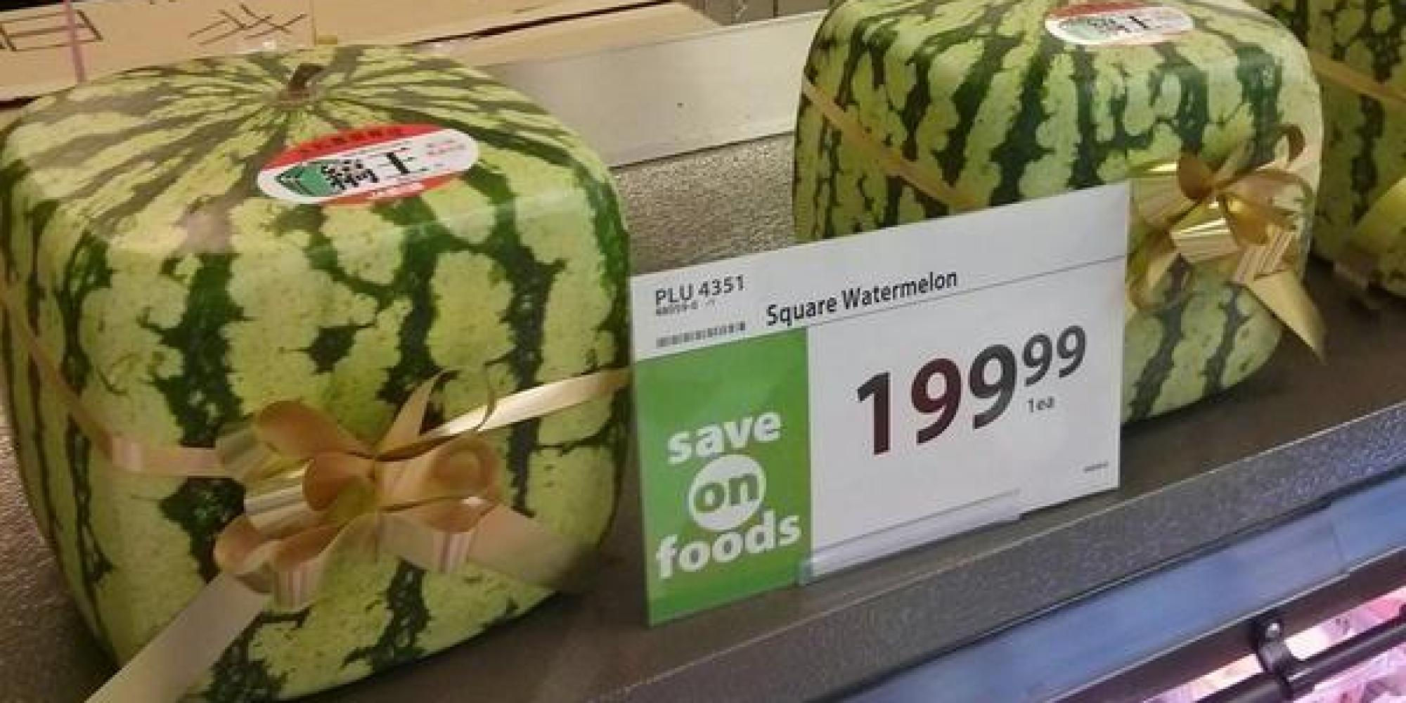 Square watermelons now available in alberta - Square watermelons how and why ...