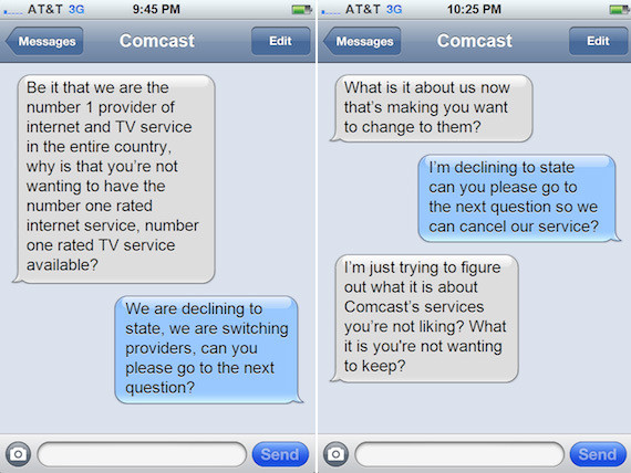 If You Put That Comcast Break-Up Call In Text Message Format