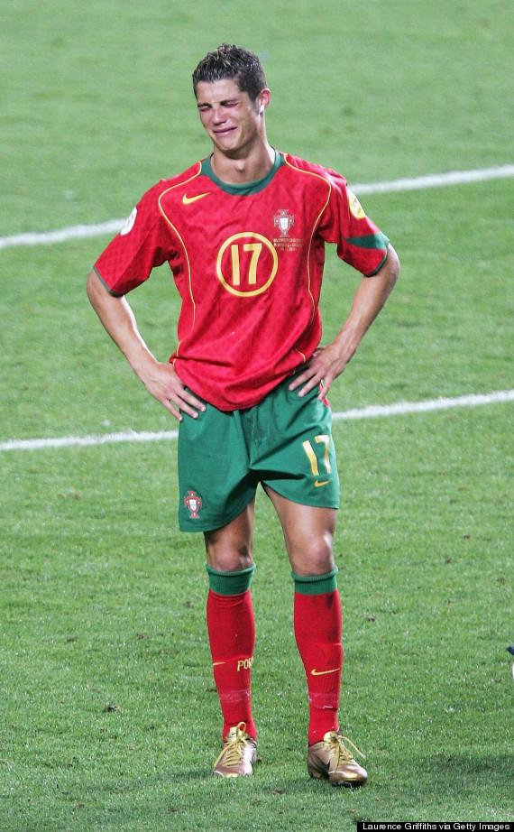 cristiano ronaldo uefa euro 2004