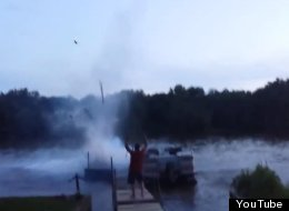 Why You Should Never Set Off Fireworks From A Dock