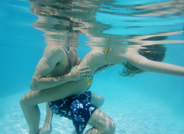 Photo comment se masturber dans l'eau