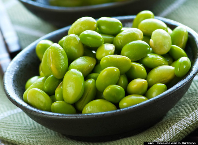 soy beans for protein