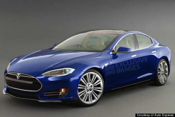 A Look At Teslas Cheapest Car The Model HuffPost - A tesla car
