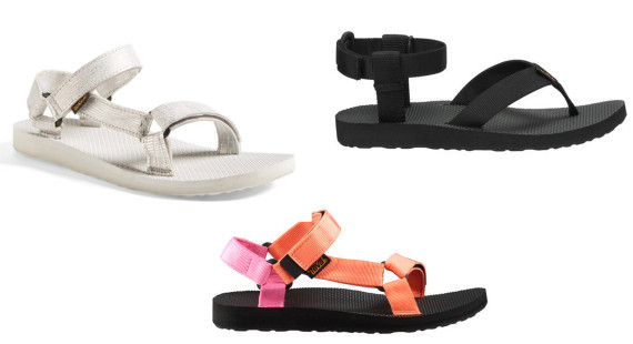 Women's sandals that can get wet