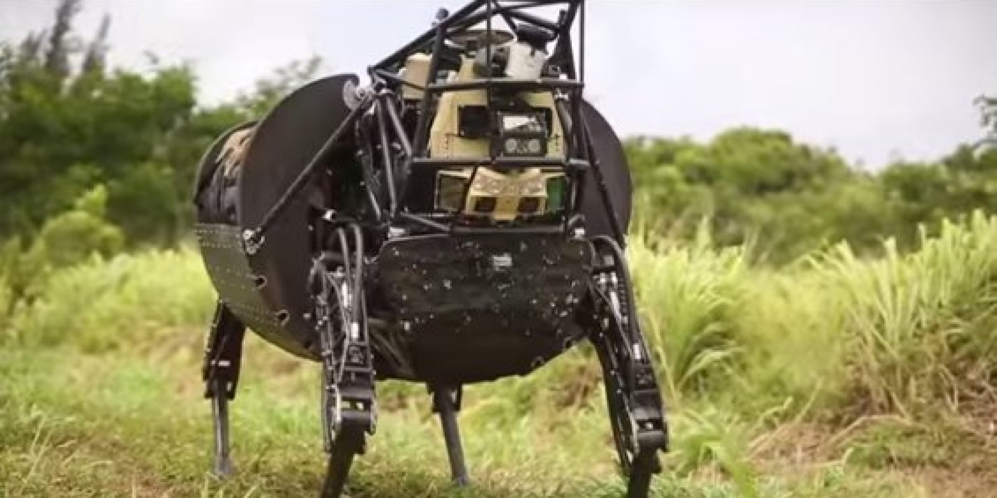 U S Military Tests Robotic Pack Mule To Go Practically