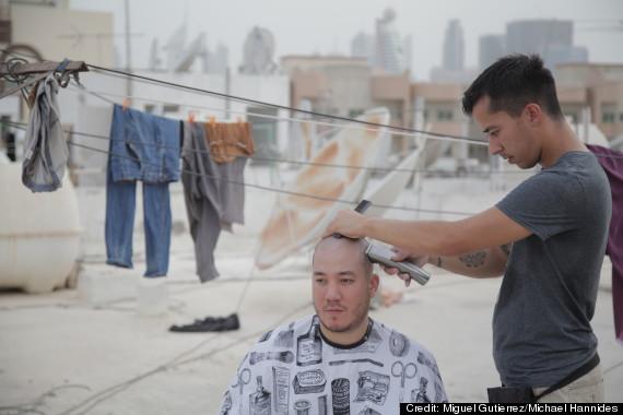dubai nomad barber