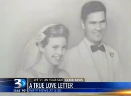Man's Love Letter To His Wife Of 61 Years Will Melt Your Heart