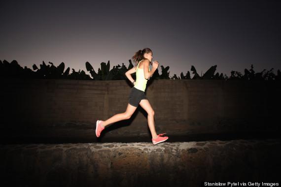 exercise night sleep