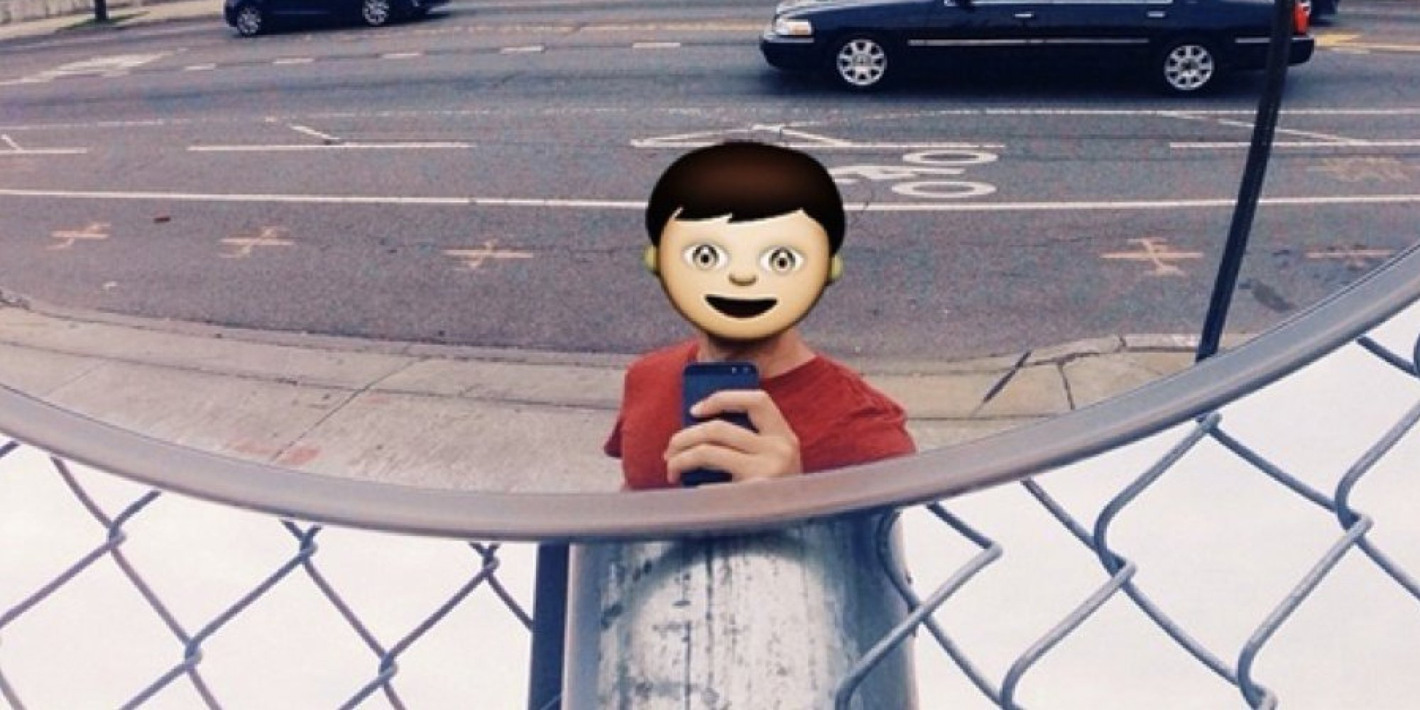 Emoji Are Taking Over The World, And One Artist Is Documenting The Damage