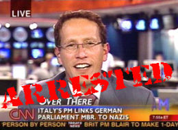 Richard Quest Arrested