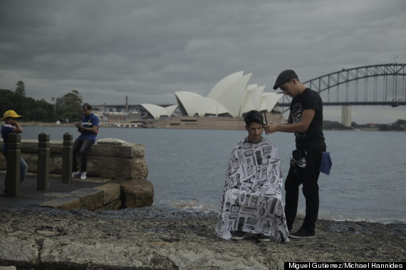 sydney australia nomad barber