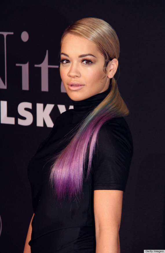 Rita Ora S My Little Pony Hair Is A Must See On Our