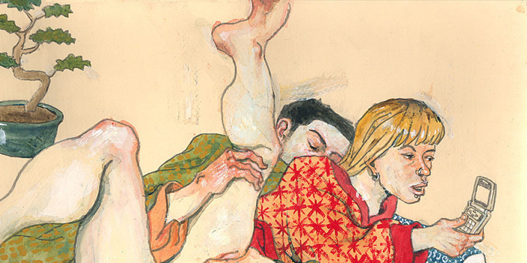 These Contemporary Shunga Prints Are Even More NSFW Than The Originals