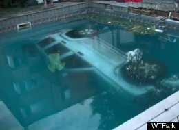 Crashing Your SUV Into A Pool? That's A Party Foul
