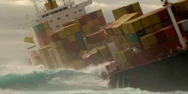 Thousands Of Containers Fall Off Ships Every Year What