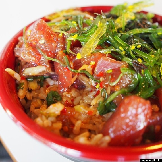 How to make a poke bowl like a true hawaii local huffpost for Aloha asian cuisine