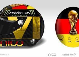 La FIFA interdit à Nico Rosberg de porter ce casque