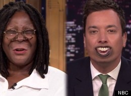 Whoopi Goldberg And Jimmy Fallon Keep It Weird