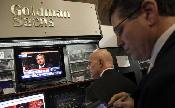 Goldman Sachs Financial Reform