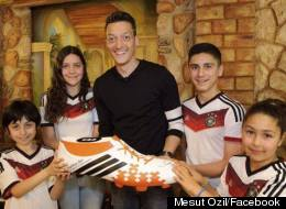 Ozil Pays For Sick Children's Surgery With World Cup Cash