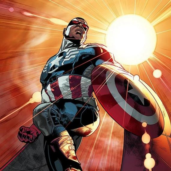 captain america noir