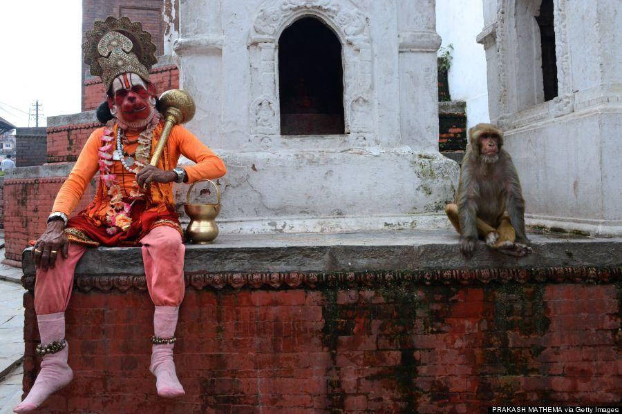 hanuman the hindu monkey god