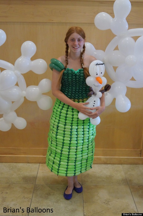 anna balloon dress