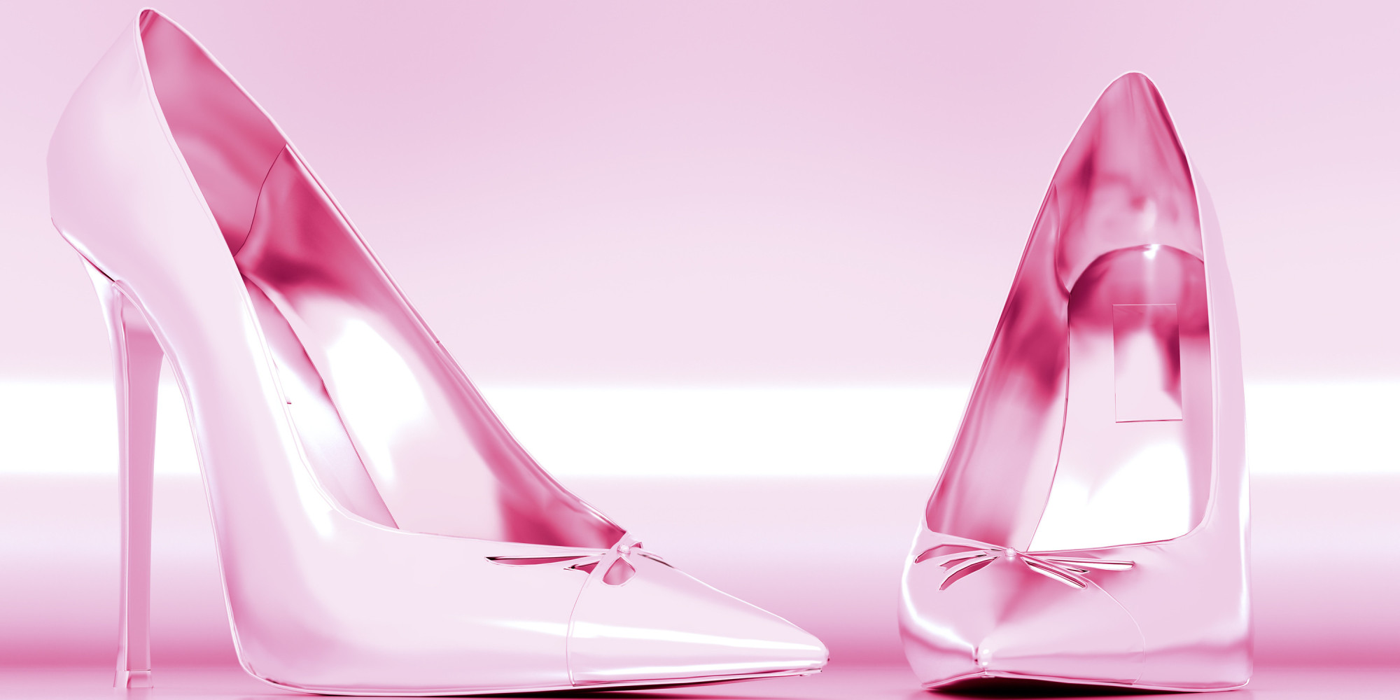 Pink High Heels... Girly Heels Cover Photos For Facebook
