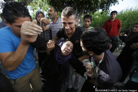 gaza boys killed