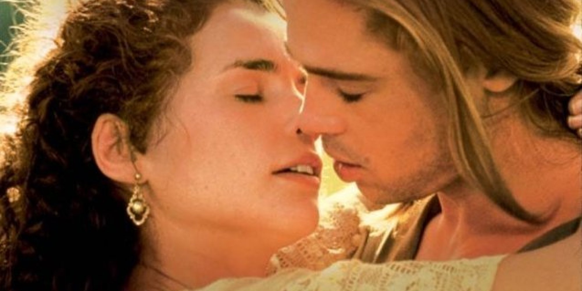 Julia ormond discusses brad pitt s legends of the fall days yup we