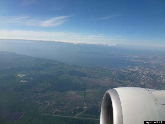 st petersburg russia aerial
