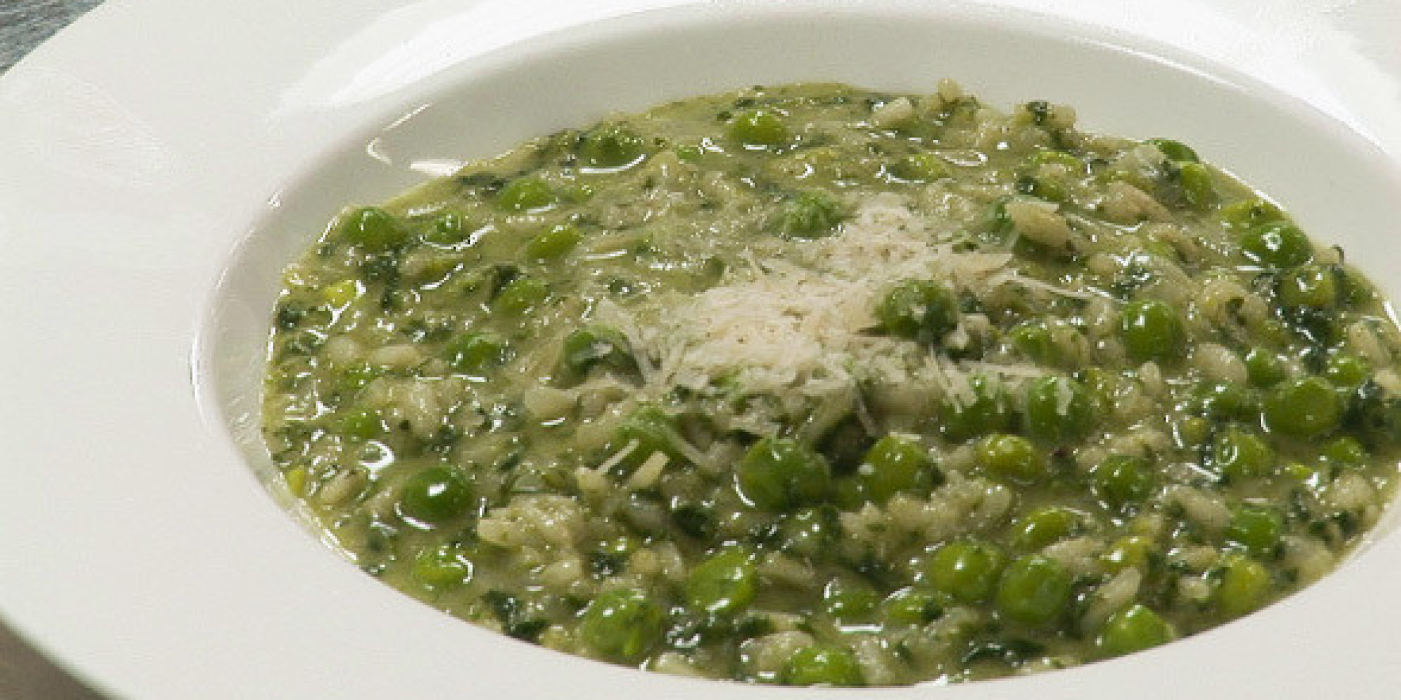Recipe of the Week: Risotto Verde With Peas, Spinach and Parmesan ...