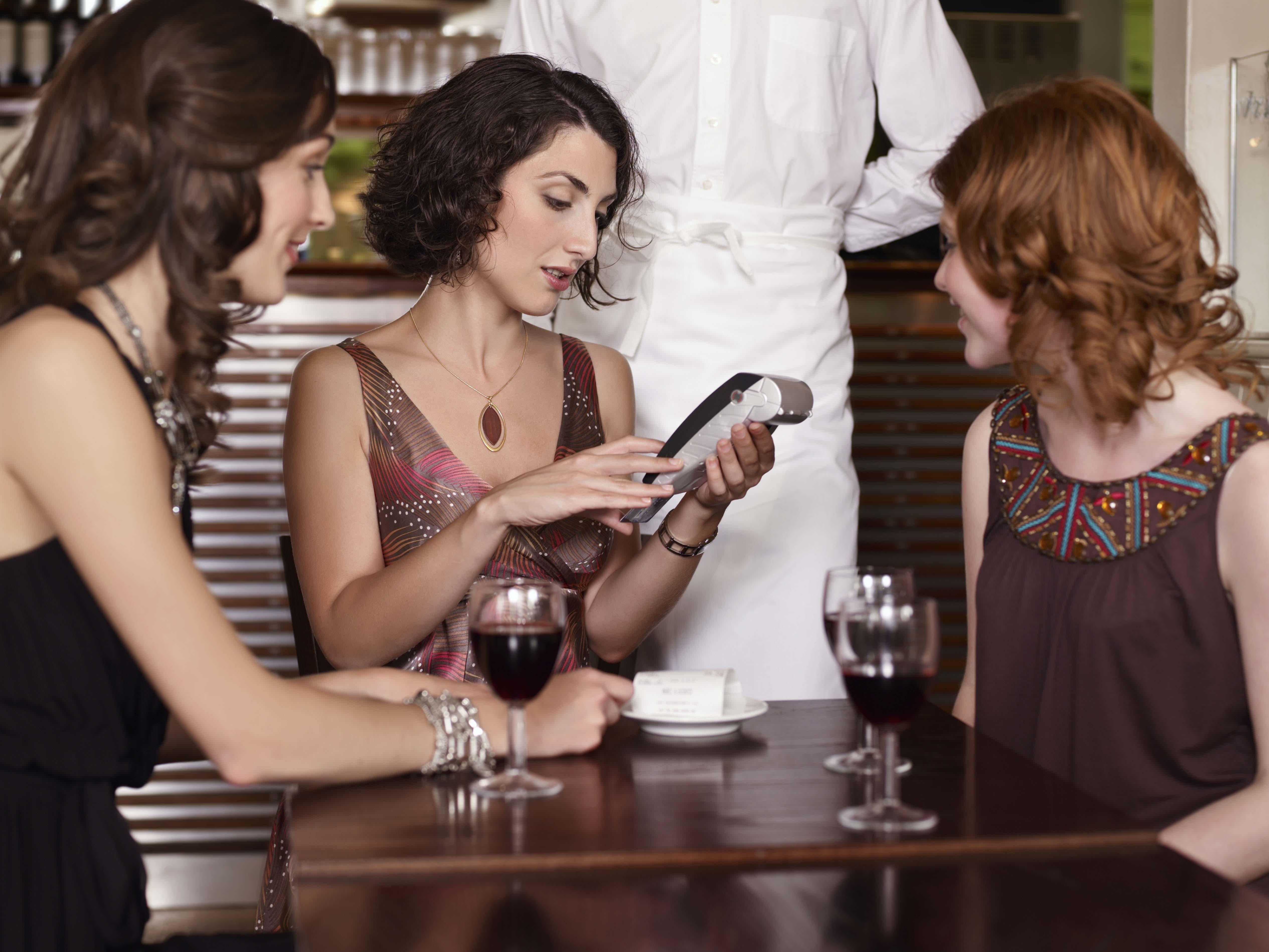 restaurant check group